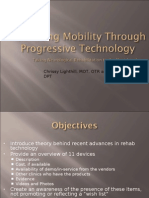 Advancing Mobility Through Progressive Technology