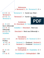 Terminologie Matematică 97-2003