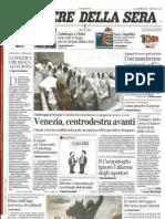 Corriere Della Sera Del 15-06-15