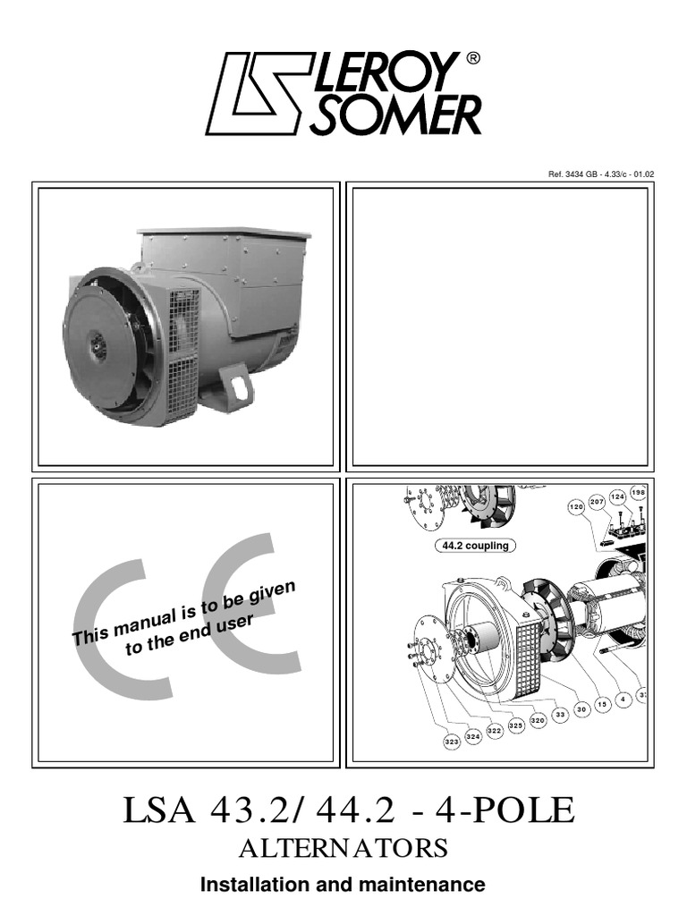Leroy Somer 3434c_GB-Ny | Power Supply | Diode