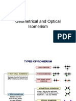 Geometrical and Optical Isomerism