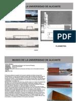 Analísis del  Museo Alicante