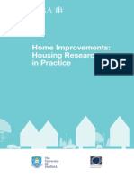 Home Improvements Housing Research in Practice 2013