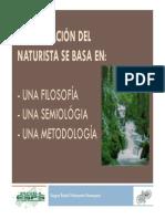 Metodologia y Semiologia en Naturopatia