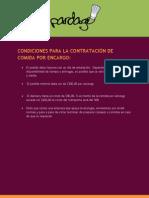 Condiciones Contratacion Comida Por Encargo Mx