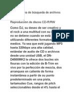 Mp3 Sistema de Búsqueda de Archivos de CD