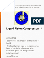 Liquid Piston Compressors