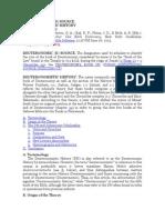 MCKENZIE S.L. AYBD. Deuteromistic Source and School