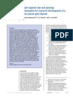 Saravanakumar Et Al 2014 - Marine Placer Gold Sample Support Size and Spacing