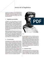 Wiki-historia de La Linguistica en resumen