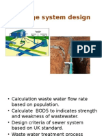 CE3205 Lecture 11 Sewerage System Design (1)
