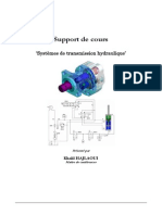 Support de Cours de 'systémes de transmission hydraulique'