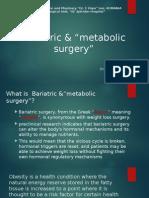 CURS NOU an 4 Chirurgie Bariatrica Timofte Daniel