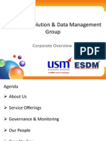 USM-ESDM Corporate Presentation