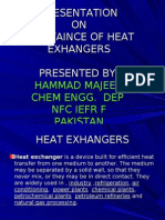 Maintaince of Heat Exchangers