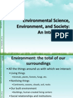 Environmental Science An Introduction