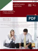 Master Universitario Oficial en Gestion Integrada de La Calidad Medio Ambiente y Prl