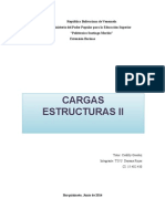 Cargas de Estructuras