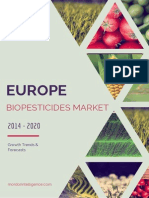 European Biopesticides Market - Growth, Trends And Forecasts (2015 - 2020)