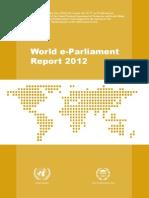 World e-Parliament Report 2012
