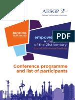 AESGP Programme