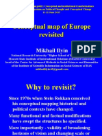 Ilyin, M. Conceptual map of Europe revisited