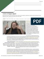 Contra el dogma digital | Babelia | EL PAÍS