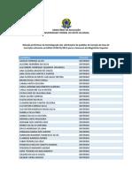 Homologao Dos Pedidos de Iseno Da Taxa de Inscrio