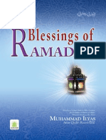 Blessings of the Ramzan