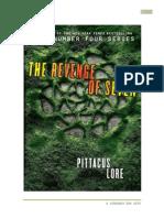 A Vingança Dos Sete - Pittacus Lore