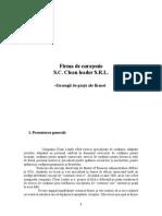 -Strategii de piață ale firmei- proiect