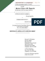 U.S. v. Fokker Services (Opening Brief of Fokker Services)