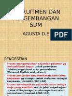 Rekruitmen Dan Pengembangan Sdm