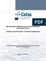 Microbiological Monitoring of Bivalve Mollusc Harvesting Areas. A Guide to good technical practice