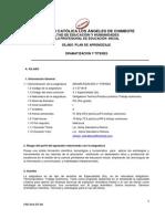 SPA Dramatizaciòn y Tìteres 201501