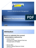 Network Documentation and Netdot