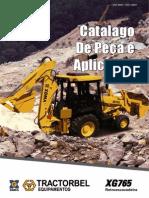 catalogo de peças xg765