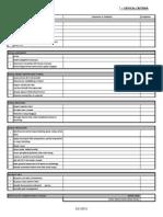 TPA Grade Sheet