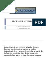 Teorema Del Valor Final TVF