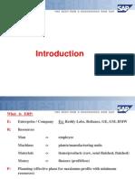 1.Sap Introduction