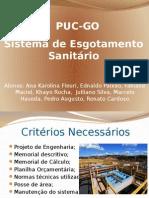 Sistema de Esgotamento Sanitário -C01