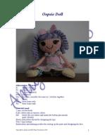 Horgolt Baba Oopsie-doll