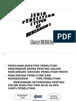 Met.Pen~JENIS-JENIS PENELITIAN.2011