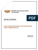 BIg Challenges for Public Sector Banks in India