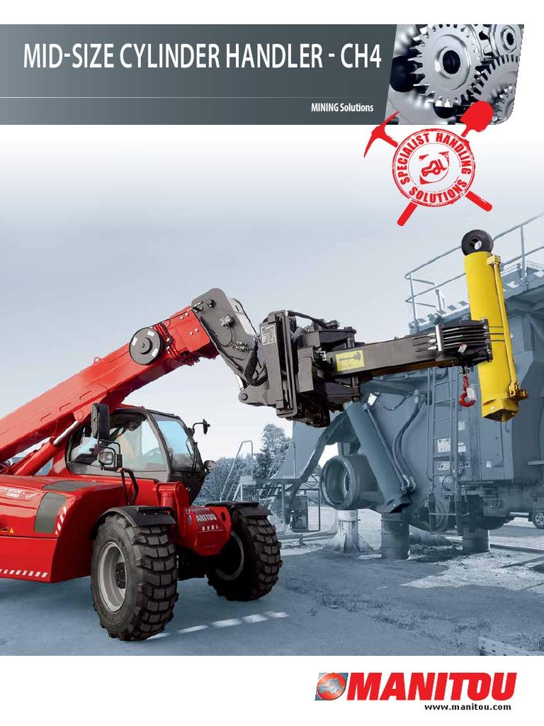 Manitou - Cylinder Handler - CH 4 - CH 10 (EN) | Manufactured Goods |  Equipment