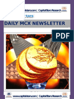 MCX COMMODITY MARKET NEWS FOR -15 JUN 2015