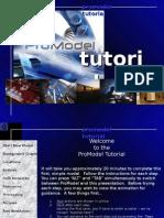 Promodel (tutorial)