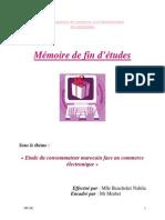 Etude Du Consommateur Marocain Face Au Commerce Électronique