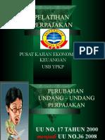 PELATIHAN PAJAK BY ASEP EFFENDI R USB YPKP