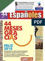 Revista Españoles, número 44 Enero 2010